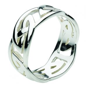 Sterling Silver Chunky Celtic Ring