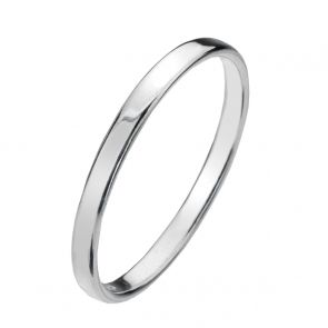 Sterling Silver 1.5mm Flat Band Ring