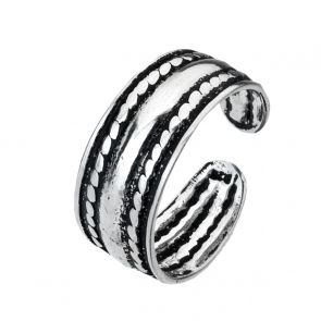 Bali Style Sterling Silver Toe Ring