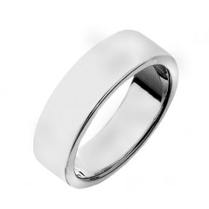 Sterling Silver Band Ring (7mm)